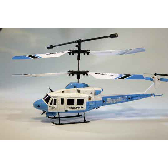 Elicottero Birotore : Elicottero micro huey blue alex modellismo